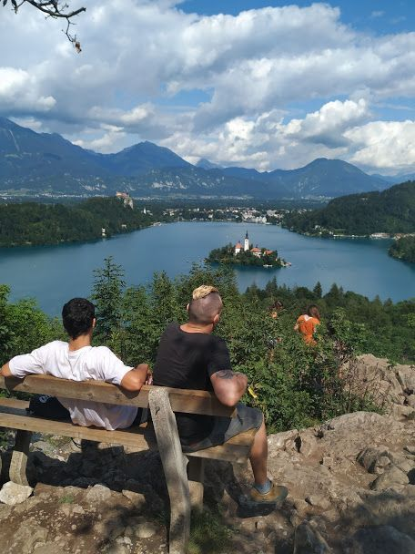 Ojstrice viewpoint on Lake Bled